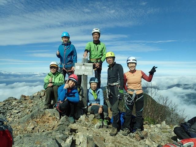 南アルプス甲斐駒ヶ岳~鋸岳の縦走
