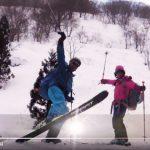 2月28日真那板山スキー